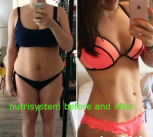 My nutrisystem weight loss journey